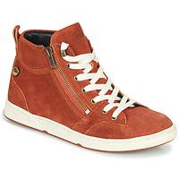 Scarpe Donna Sneakers alte Pataugas JULIA/CR F4F Brique