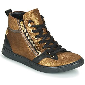 Scarpe Donna Sneakers alte Pataugas JULIA/CR F4F Mordore