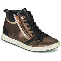 Scarpe Donna Sneakers alte Pataugas JULIA/MIX F4F Rosa / Oro / Nero