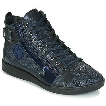 Scarpe Donna Sneakers alte Pataugas PALME/C F4F Marine