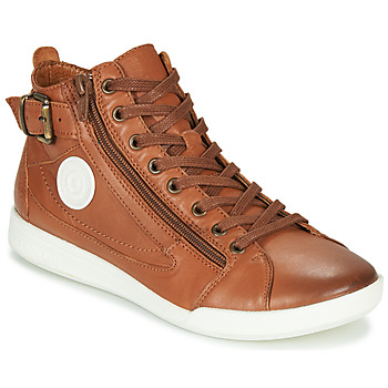 Scarpe Donna Sneakers alte Pataugas PALME/N F4D Cognac