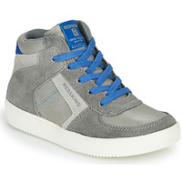 Scarpe Bambino Sneakers alte Redskins LAVAL KID Grigio / Blu