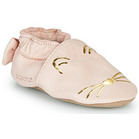 Scarpe Bambina Pantofole Robeez GOLDY CAT Rosa / Oro