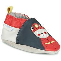 Scarpe Bambino Pantofole Robeez FIREMAN Marine / Rosso