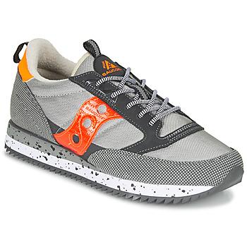 Scarpe Sneakers basse Saucony JAZZ (PEAK) Grigio / Rosso / Arancio