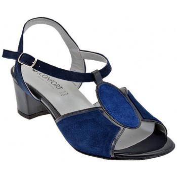 Scarpe Donna Sandali Confort 8014 T. 40 Sandali blu