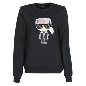 Abbigliamento Donna Felpe Karl Lagerfeld IKONIK KARL SWEATSHIRT Nero