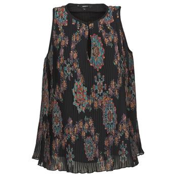 Abbigliamento Donna Top / T-shirt senza maniche Desigual MIRA Blu