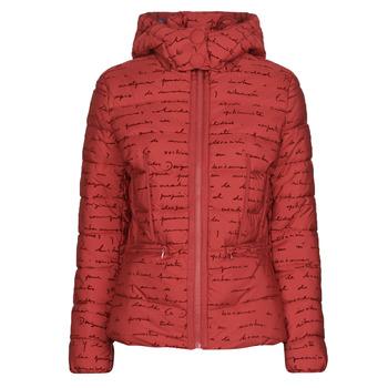 Abbigliamento Donna Piumini Desigual NATASHA Rosso