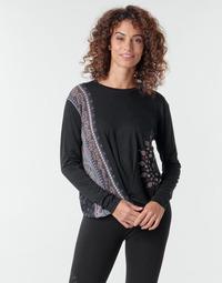 Abbigliamento Donna T-shirts a maniche lunghe Desigual MARSELLA Marine