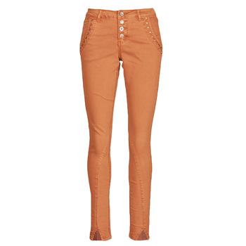 Abbigliamento Donna Pantaloni 5 tasche Cream HOLLY CR TWILL Marrone