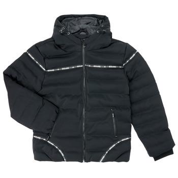 Abbigliamento Bambino Piumini Deeluxe HOLYSON Nero