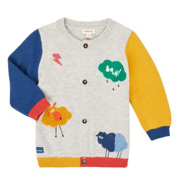 Abbigliamento Bambino Gilet / Cardigan Catimini CR18020-20 Multicolore