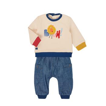 Abbigliamento Bambino Completo Catimini CR36050-46 Multicolore