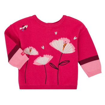 Abbigliamento Bambina Gilet / Cardigan Catimini CR18033-35 Rosa