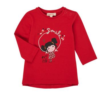 Abbigliamento Bambina T-shirts a maniche lunghe Catimini CR10043-38 Rosso