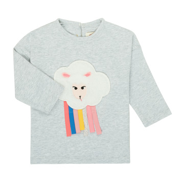 Abbigliamento Bambina T-shirts a maniche lunghe Catimini CR10093-21 Grigio