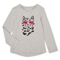 Abbigliamento Bambina T-shirts a maniche lunghe Catimini CR10275-26-J Grigio