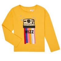 Abbigliamento Bambina T-shirts a maniche lunghe Catimini CR10135-72-C Giallo