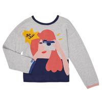 Abbigliamento Bambina Gilet / Cardigan Catimini CR18055-21-C Multicolore