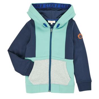Abbigliamento Bambino Gilet / Cardigan Catimini CR17044-51-C Blu