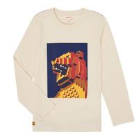 Abbigliamento Bambino T-shirts a maniche lunghe Catimini CR10064-17-C Bianco