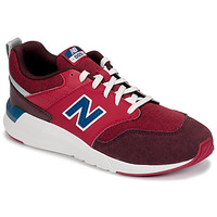 Scarpe Unisex bambino Sneakers basse New Balance YS009 Rosso
