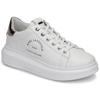Scarpe Donna Sneakers basse Karl Lagerfeld KAPRI MAISON KARL LACE Bianco