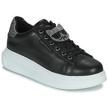 Scarpe Donna Sneakers basse Karl Lagerfeld KAPRI IKONIC TWIN LO LACE Nero