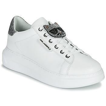 Scarpe Donna Sneakers basse Karl Lagerfeld KAPRI IKONIC TWIN LO LACE White / Silver