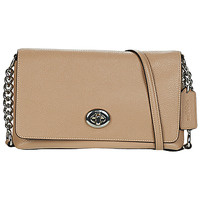 Borse Donna Tracolle Coach CROSSTOWN Taupe
