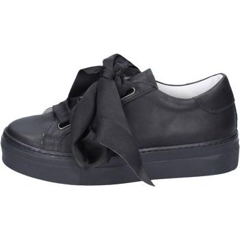 Scarpe Donna Sneakers Lemaré sneakers pelle nero