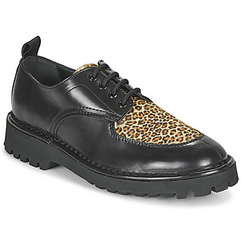 Scarpe Donna Derby Kenzo K MOUNT Nero / Leopard