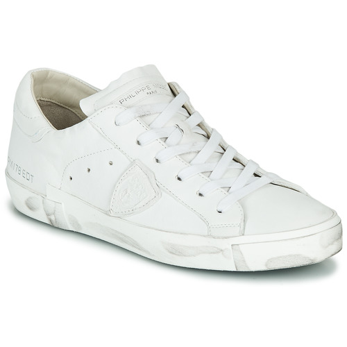 Scarpe Donna Sneakers basse Philippe Model PARIS X BASIC Bianco