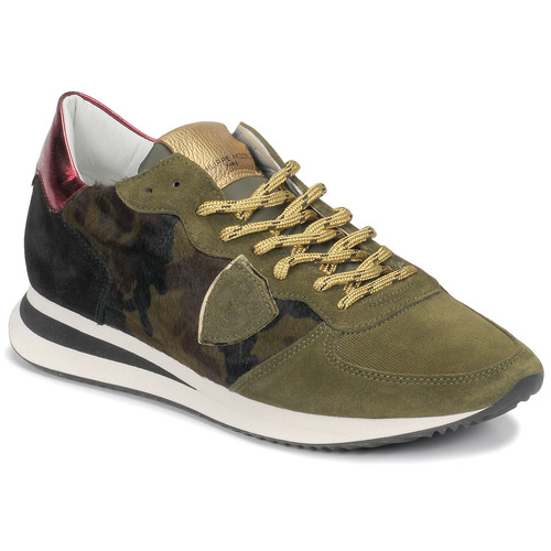 Scarpe Donna Sneakers basse Philippe Model TROPEZ Camouflage