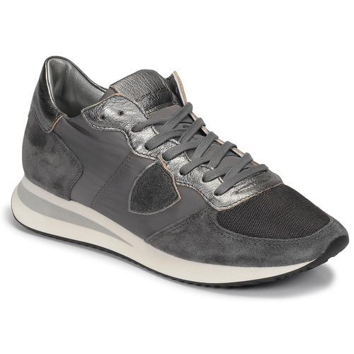 Scarpe Donna Sneakers basse Philippe Model TROPEZ Grigio