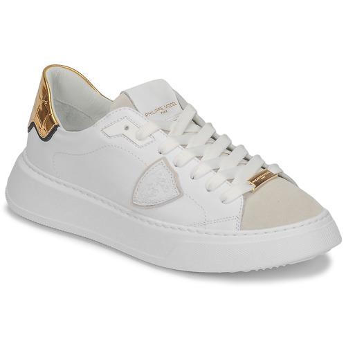Scarpe Donna Sneakers basse Philippe Model TEMPLE Bianco