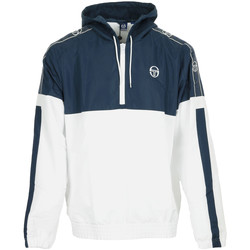 Abbigliamento Uomo giacca a vento Sergio Tacchini Fingal Tracktop White/Navy Bianco