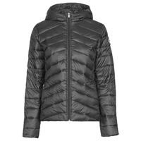 Abbigliamento Donna Piumini Roxy COAST ROAD HOOD J JCKT KVJ0 Nero