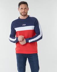 Abbigliamento Uomo Felpe Fila CREW SWEATER Blu / Bianco / Rosso