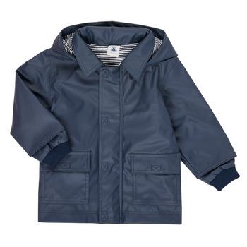 Abbigliamento Unisex bambino Parka Petit Bateau FETE Marine
