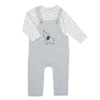 Abbigliamento Bambino Completo Noukie's Z050372 Grigio