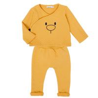 Abbigliamento Bambina Completo Noukie's Z050377 Giallo