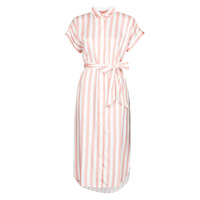 Abbigliamento Donna Abiti lunghi Lauren Ralph Lauren CICERO Bianco / Rosa