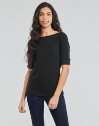 Abbigliamento Donna T-shirts a maniche lunghe Lauren Ralph Lauren JUDY Nero