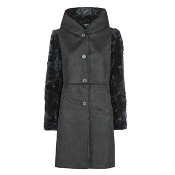 Abbigliamento Donna Cappotti Lauren Ralph Lauren COMBO FX SH-COAT Nero