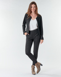 Abbigliamento Donna Pantaloni 5 tasche Le Temps des Cerises BIEBER Nero