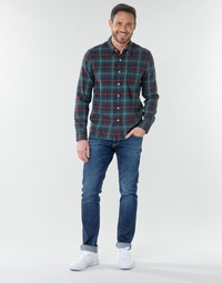 Abbigliamento Uomo Jeans dritti Le Temps des Cerises 812 BASIC Blu
