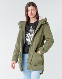 Abbigliamento Donna Parka Volcom WALK ON BY 5K PARKA Verde
