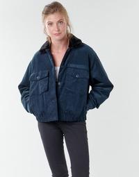 Abbigliamento Donna Giubbotti Volcom ARMY CORD JACKET Blu